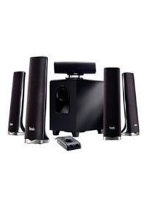 Hercules XPS 5.1 70 Slim - 5.1-channel PC multimedia speaker system - 70 Watt (Total)
