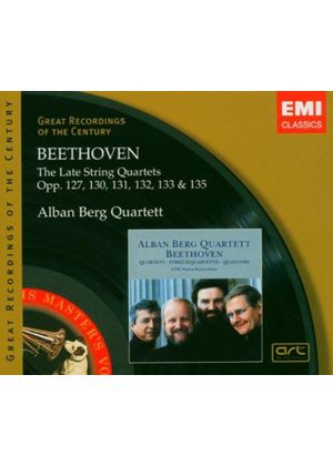 Ludwig Van Beethoven - Late String Quartets (Alban Berg Quartett) (Music CD)