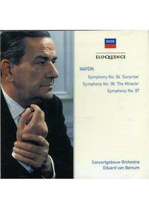 Haydn: Symphonies Nos 94, 96 and 97
