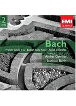 Johann Sebastian Bach - French Suites (Gavrilov, Bunin) (Music CD)