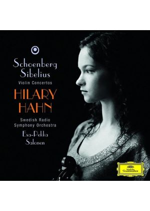 Schoenberg/Sibelius - Violin Concertos (Hahn, Swedish Radio SO) (Music CD)