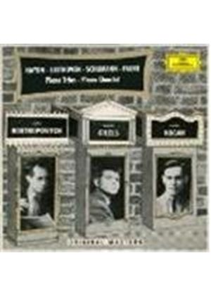 Haydn/Beethoven/Schumann/Faure - Piano Trios/Piano Quartet (Rostropovich, Gilels) (Music CD)
