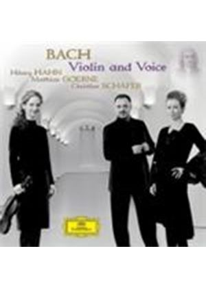 Bach - Violin and Voice (Music CD)