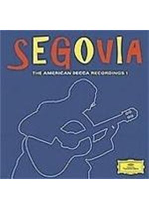 Segovia - American Decca Recordings (Music CD)