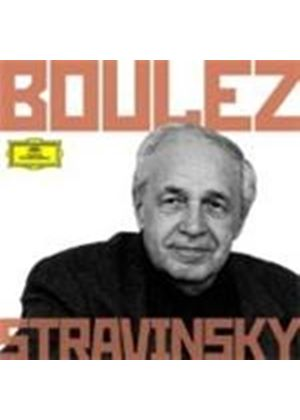 Boulez conducts Stravinsky (Music CD)