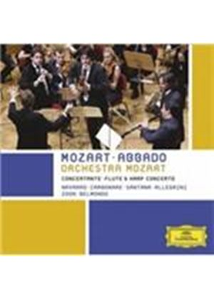 Mozart: Sinfonia Concertante; Flute & Harp Concerto (Music CD)