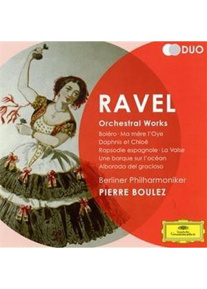 Ravel: Orchestral Works (Music CD)