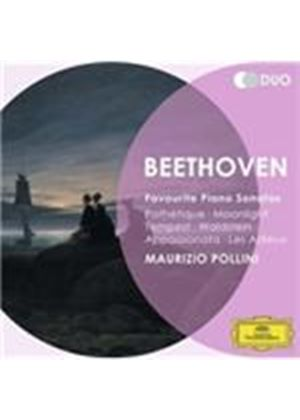 Beethoven: Favourite Piano Sonatas (Music CD)