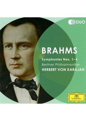 Brahms: Symphonies Nos. 1-4 (Music CD)