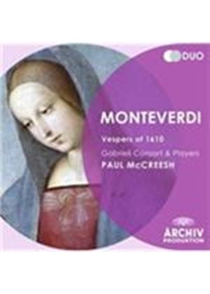 Monteverdi: 1610 Vespers (Music CD)
