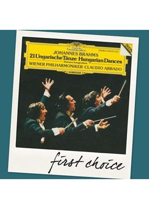 Brahms: 21 Hungarian Dances (Music CD)