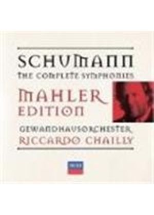 Robert Schumann - The Symphonies (Chailly, Gewandhausorchester) (Music CD)