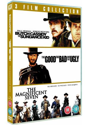 Butch Cassidy and the Sundance Kid/ The Good, The Bad and the Ugly/ The Magnificent Seven - Triple Pack