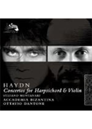 Haydn: Concertos for Harpsichord and Violin (Music CD)