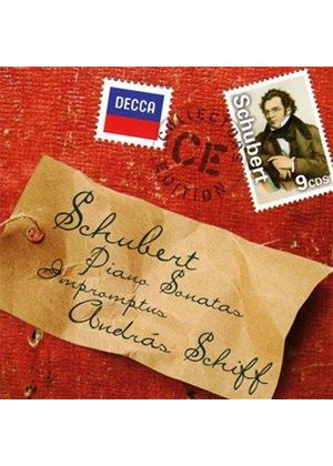 Schubert: Piano Sonatas; Impromptus (Music CD)