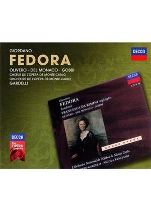Giordano: Fedora (Music CD)