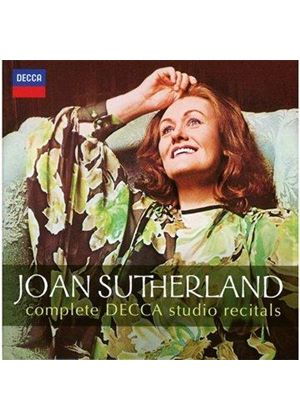 Joan Sutherland: Complete Decca Studio Recitals (Music CD)