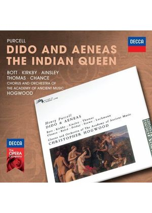 Purcell: Dido and Aeneas; The Indian Queen (Music CD)