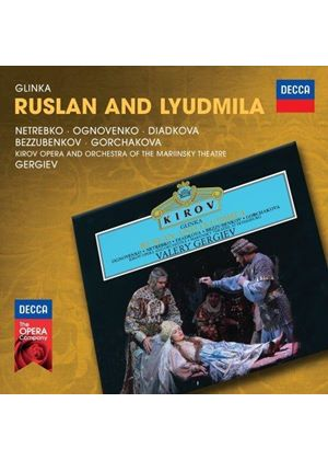 Glinka: Ruslan and Lyudmila (Music CD)
