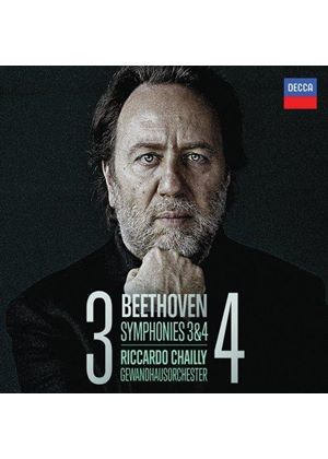 Beethoven: Symphonies Nos. 3 & 4 (Music CD)