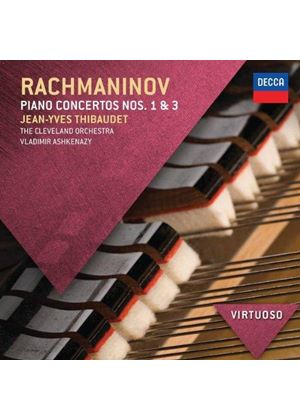 Rachmaninov: Piano Concerto Nos. 1 & 3 (Music CD)