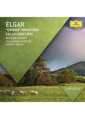 Elgar: Enigma Variations; Cello Concerto (Music CD)