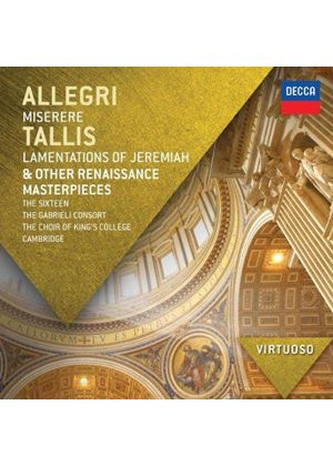 Allegri: Miserere; Tallis: Lamentations of Jeremiah (Music CD)