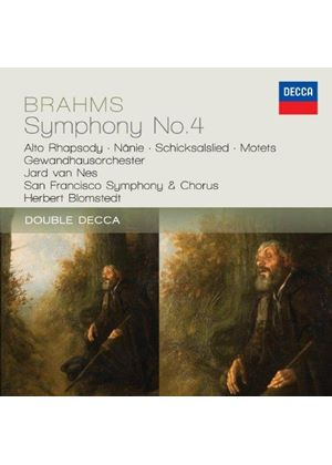 Brahms: Symphony No. 4; Alto Rhapsody (Music CD)