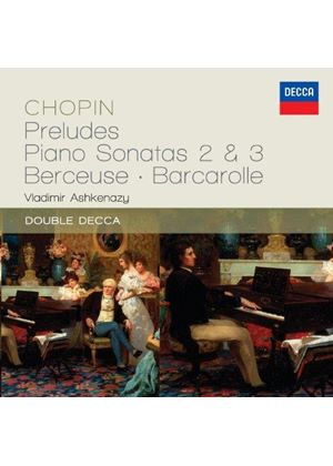 Chopin: Preludes; Piano Sonatas Nos. 2 & 3 (Music CD)