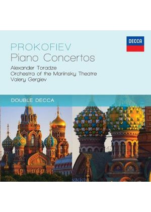 Prokofiev: The Five Piano Concertos (Music CD)