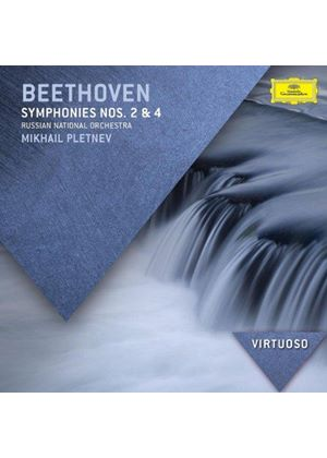 Beethoven: Symphonies Nos. 2 & 4 (Music CD)