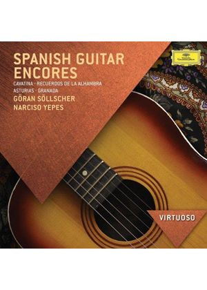 Spanish Guitar Encores (Music CD)