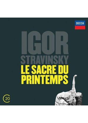 Stravinsky: Le Sacre du Printemps (Music CD)