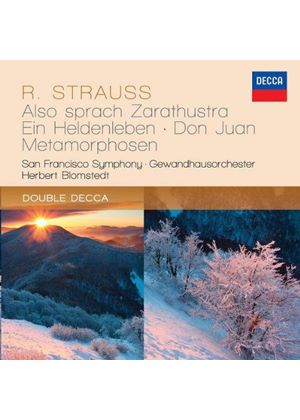 Richard Strauss: Tone Poems (Music CD)