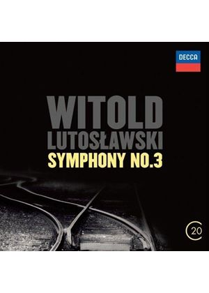 Lutoslawski: Symphony No. 3; Concerto for Orchestra (Music CD)