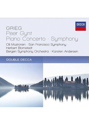 Grieg: Peer Gynt; Piano Concerto; Symphony (Music CD)