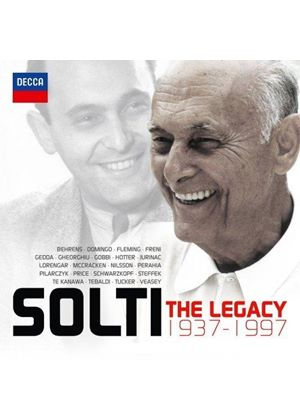 Georg Solti: The Legacy (Music CD)