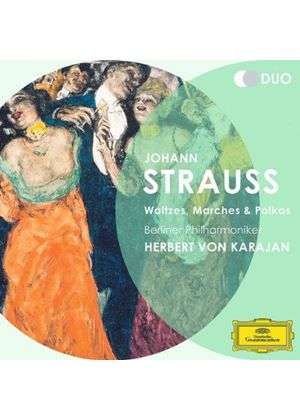 J. Strauss II: Waltzes, Marches and Polkas (Music CD)