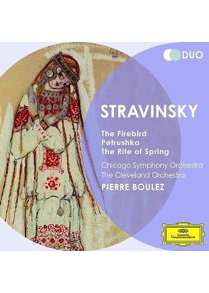 Stravinsky: The Firebird; Petrushka; The Rite of Spring (Music CD)