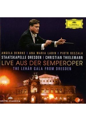 Live aus der Semperoper: The Lehár Gala from Dresden (Music CD)