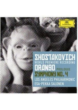 Shostakovich: Prologue to 'Orango'; Symphony No. 4 (Music CD)