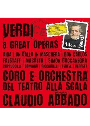 Verdi: Six Great Operas (Music CD)