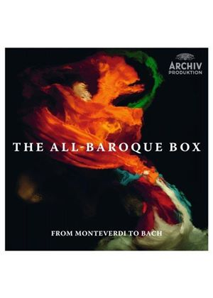 All-Baroque Box: From Monteverdi to Bach (Music CD)