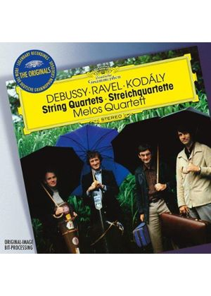 Debussy, Ravel, Kodály: String Quartets (Music CD)