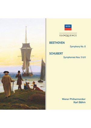 Schubert: Symphonies Nos. 5, 7 & 8; Beethoven: Symphony No. 8 (Music CD)