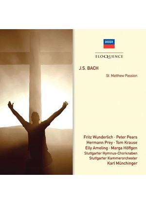 J.S. Bach: St. Matthew Passion (Music CD)