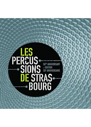 Percussions de Strasbourg 50th Anniversay (Music CD)