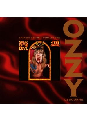 Ozzy Osbourne - Speak Of The Devil (Music CD)