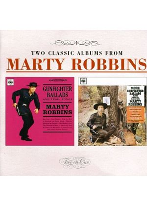 Marty Robbins - Gunfighter Ballads & Trail Songs/More... (Music CD)
