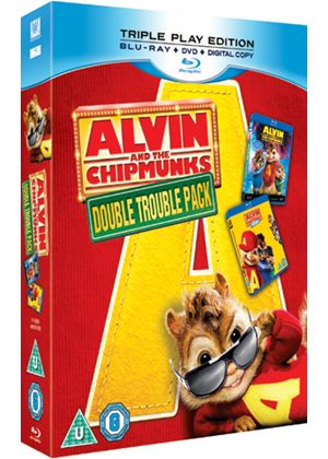 Alvin And The Chipmunks 1 And 2 (Blu-Ray)